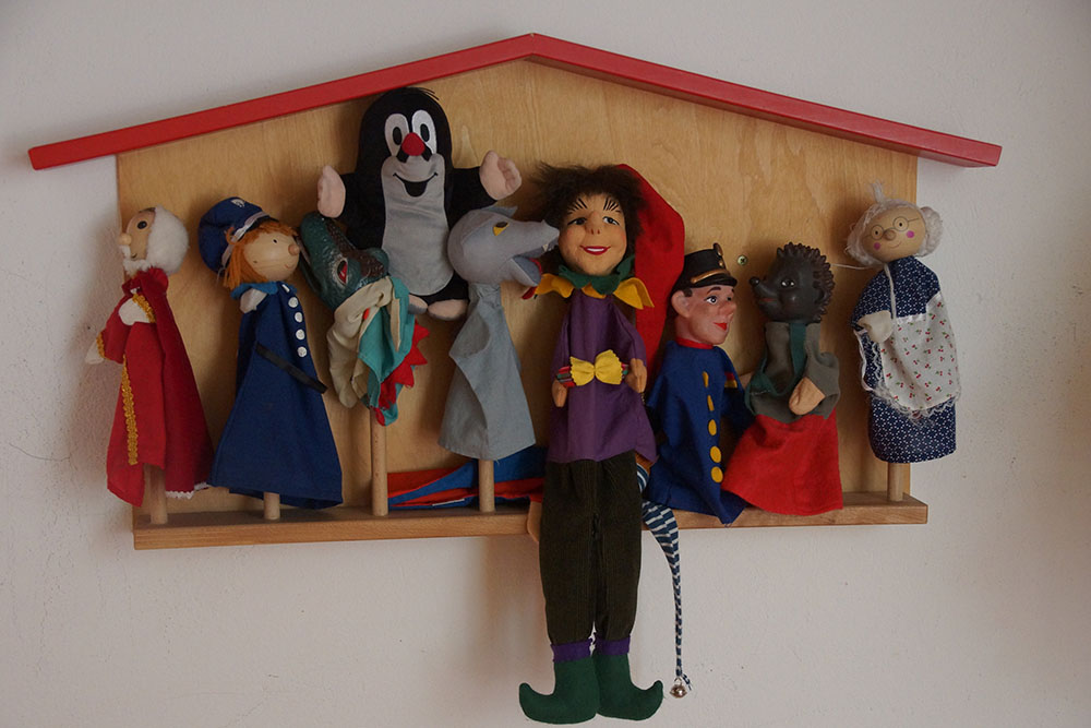 Kita Gertraud-Marien Puppen