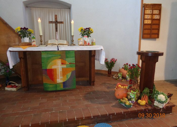 Kita Lebus Altar Kirche Lebus